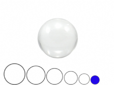 Jac Products Clear 60mm Acrylic Contact Ball